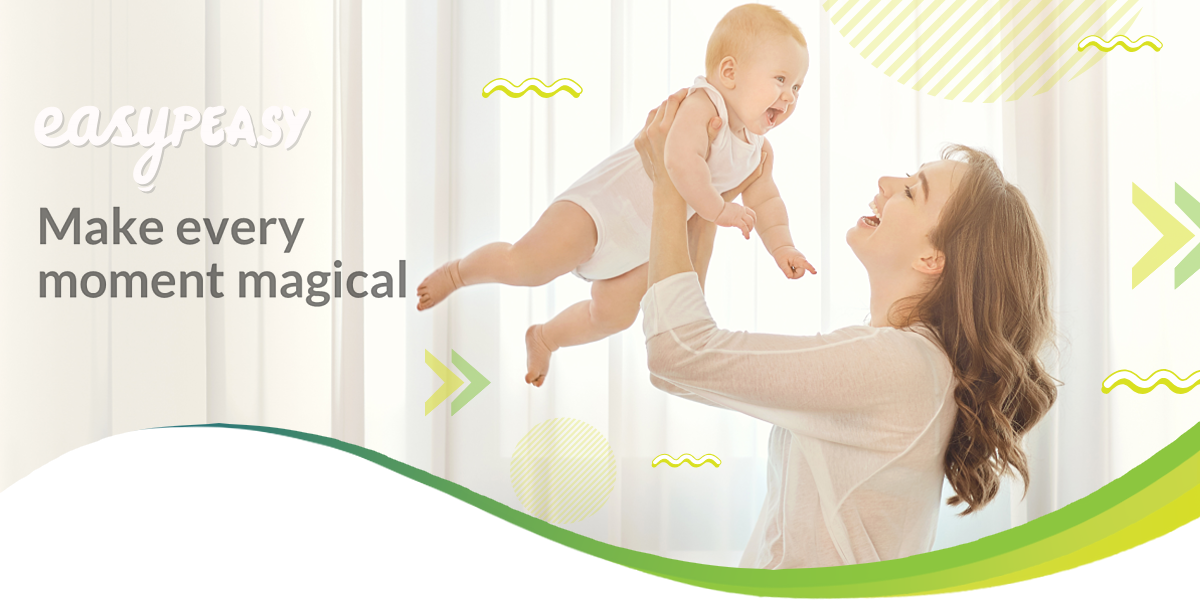 Our new parenting app | EasyPeasy