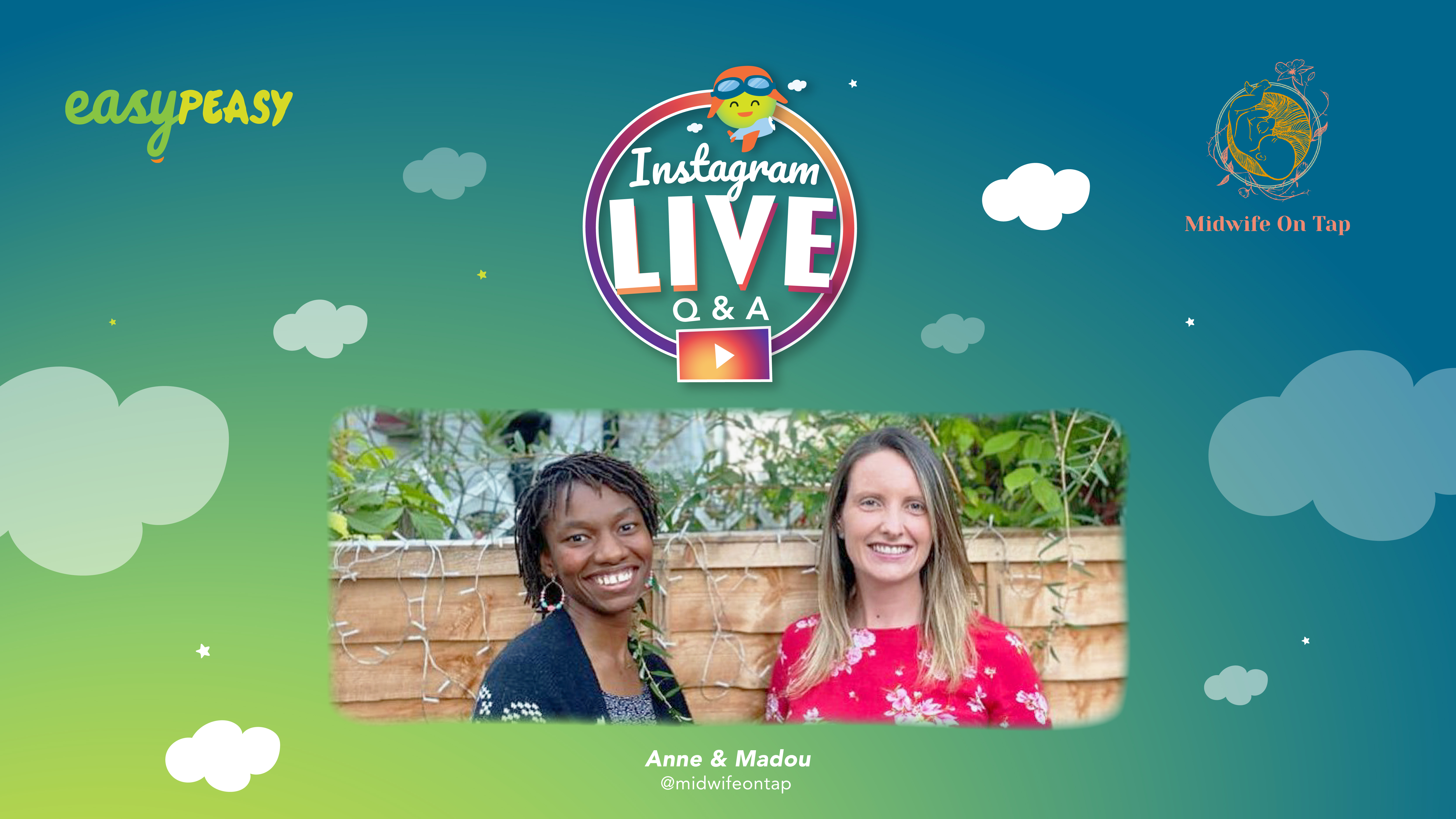 Insta Live Q&A with Midwife On Tap